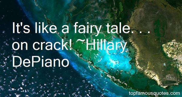 Hillary DePiano Quotes