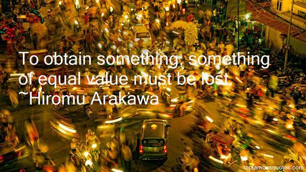 荒川 弘 Hiromu Arakawa Quotes