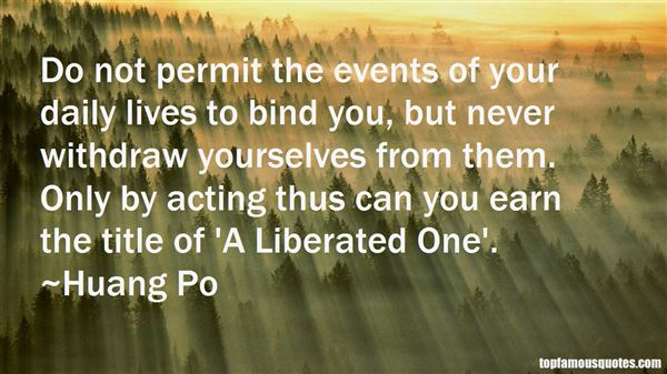 Huang Po Quotes