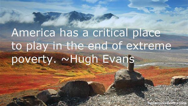 Hugh Evans Quotes