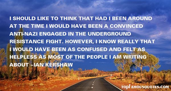 Ian Kershaw Quotes