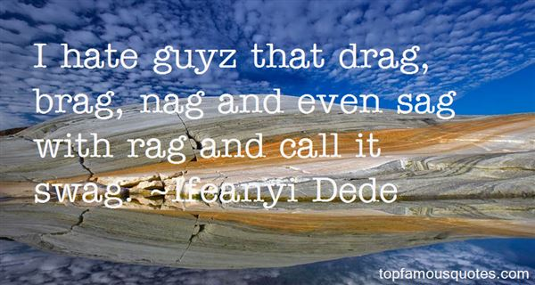 Ifeanyi Dede Quotes