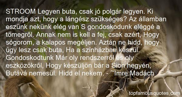 Imre Madách Quotes