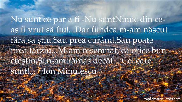 Ion Minulescu Quotes