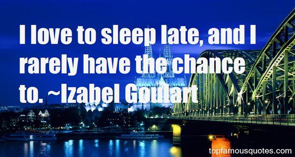 Izabel Goulart Quotes