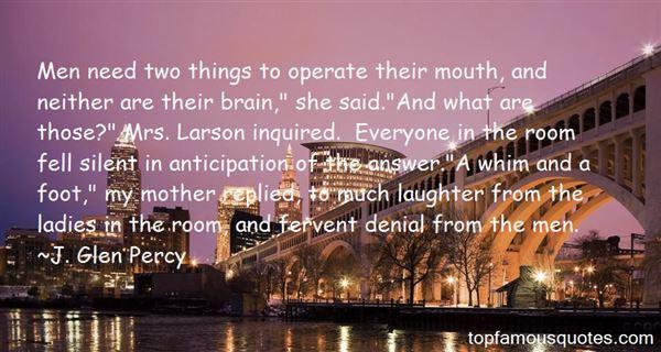 J. Glen Percy Quotes