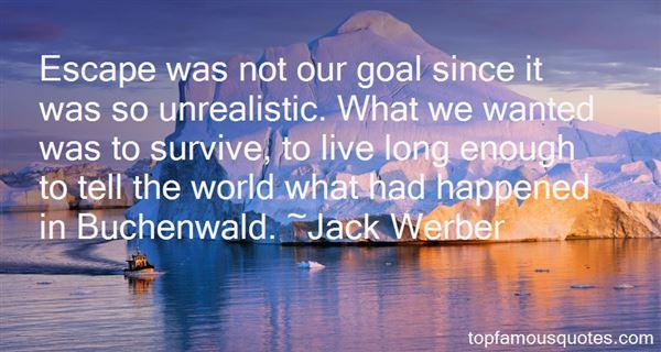 Jack Werber Quotes