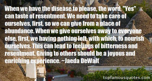 Jaeda DeWalt Quotes