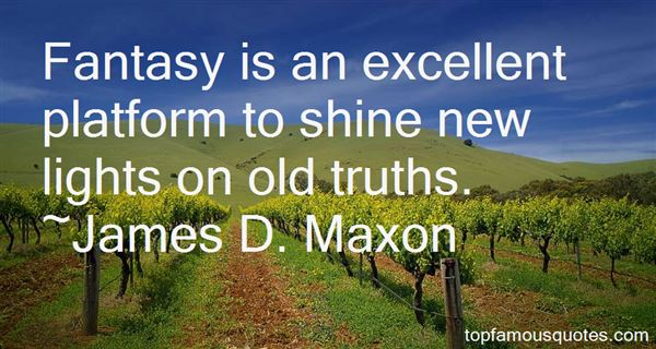 James D. Maxon Quotes