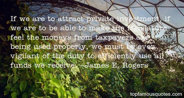 James E. Rogers Quotes