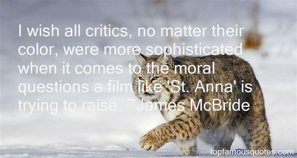James McBride Quotes