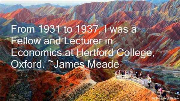 James Meade Quotes
