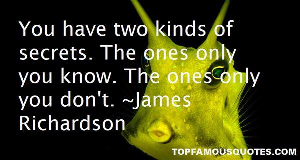 James Richardson Quotes