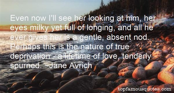 Jane Avrich Quotes