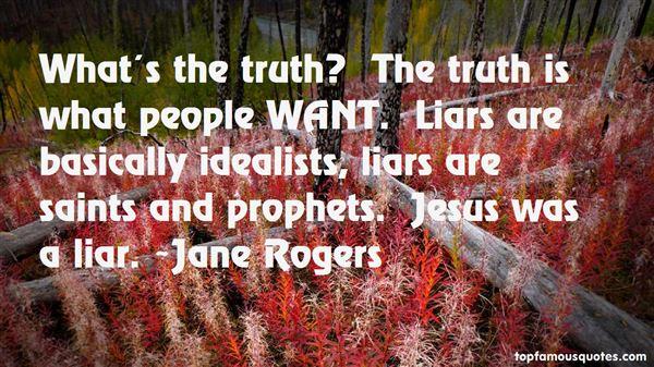 Jane Rogers Quotes