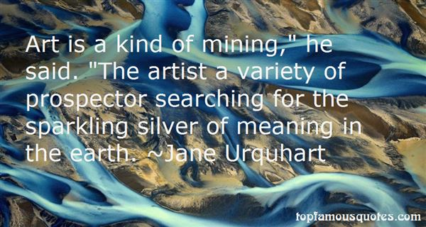 Jane Urquhart Quotes
