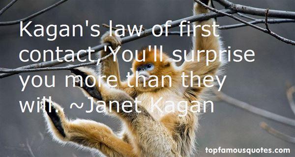 Janet Kagan Quotes