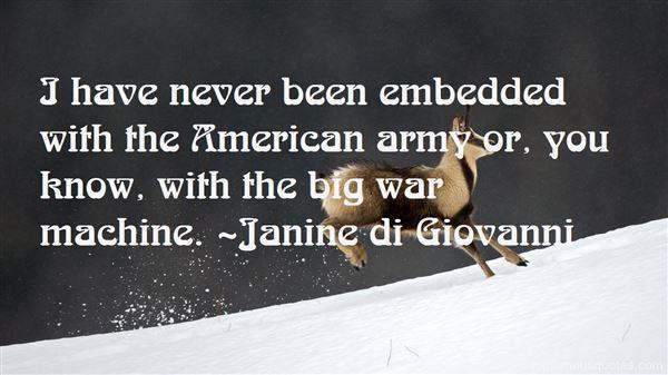 Janine Di Giovanni Quotes