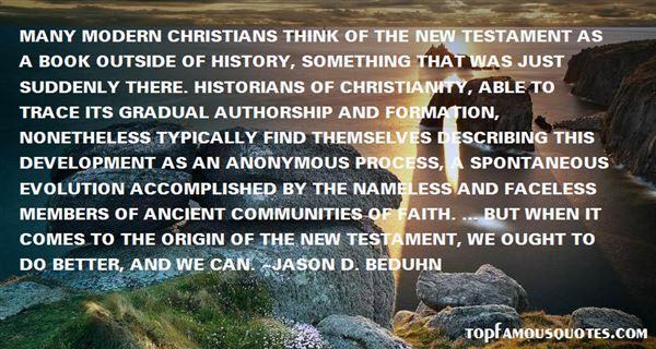 Jason D. BeDuhn Quotes