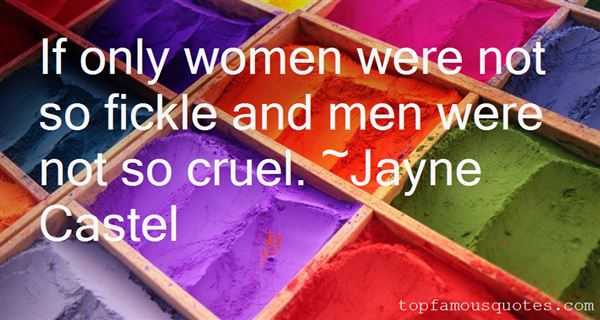 Jayne Castel Quotes