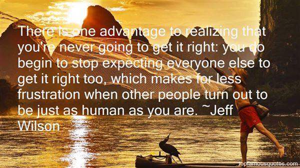 Jeff Wilson Quotes