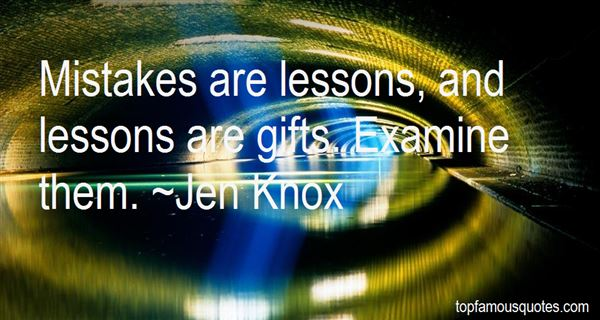 Jen Knox Quotes