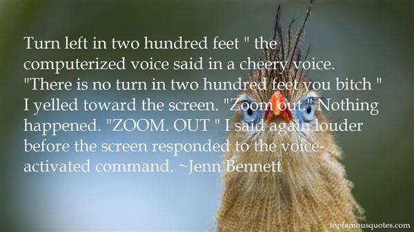 Jenn Bennett Quotes
