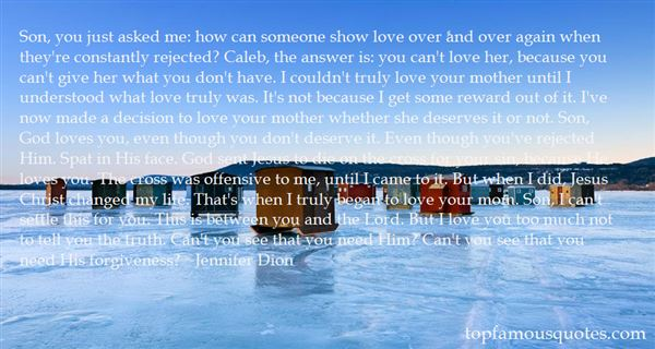Jennifer Dion Quotes