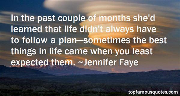 Jennifer Faye Quotes