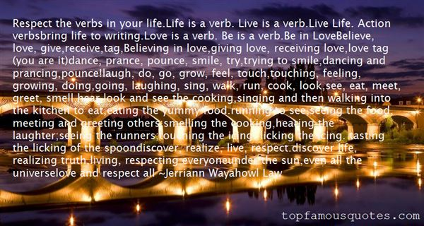 Jerriann Wayahowl Law Quotes