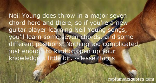 Jesse Harris Quotes