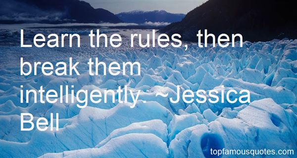 Jessica Bell Quotes