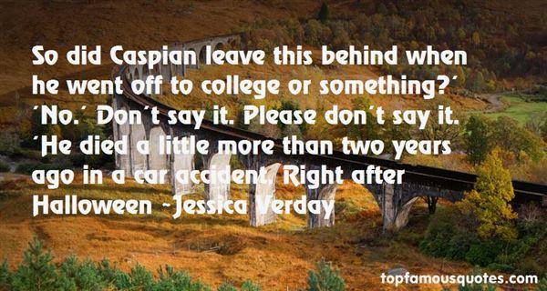 Jessica Verday Quotes