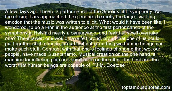J.M. Coetzee Quotes