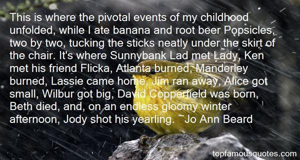 Jo Ann Beard Quotes