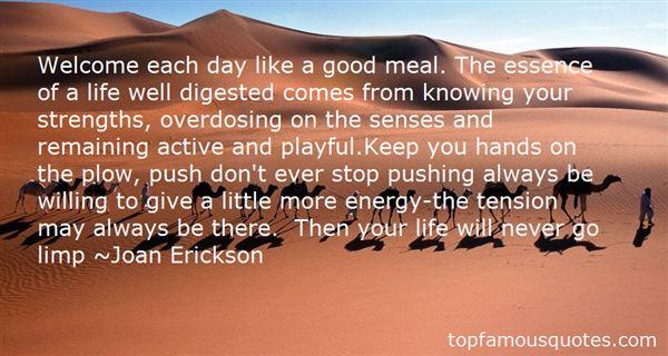 Joan Erickson Quotes