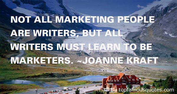 Joanne Kraft Quotes