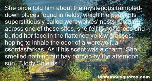 Jody Shields Quotes
