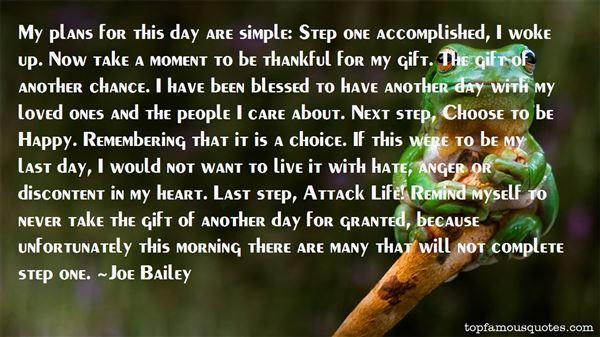 Joe Bailey Quotes