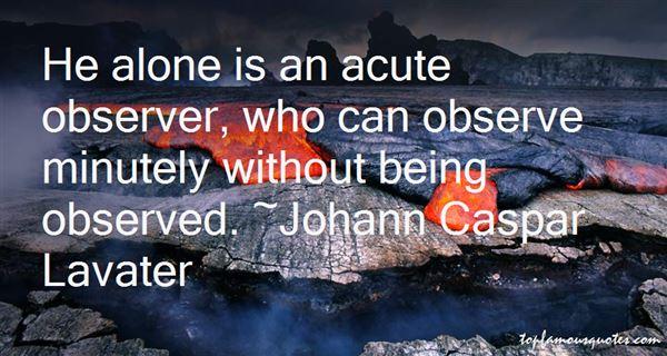 Johann Caspar Lavater Quotes