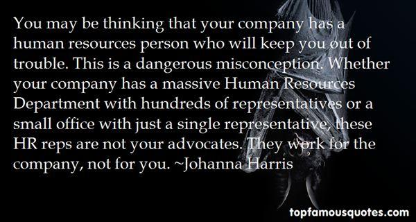 Johanna Harris Quotes