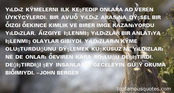 John Berger Quotes