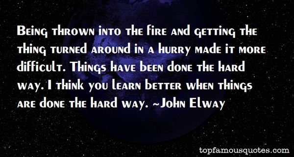 John Elway Quotes