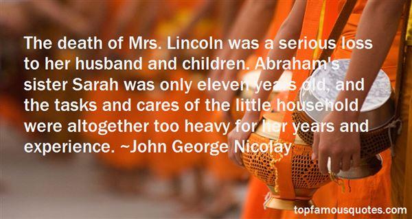 John George Nicolay Quotes