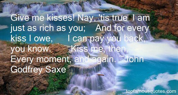 John Godfrey Saxe Quotes