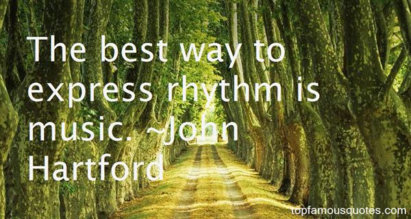 John Hartford Quotes