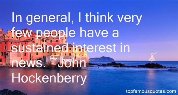 John Hockenberry Quotes