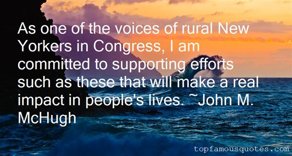John M. McHugh Quotes
