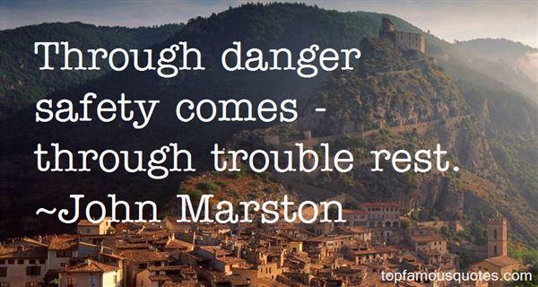 John Marston Quotes