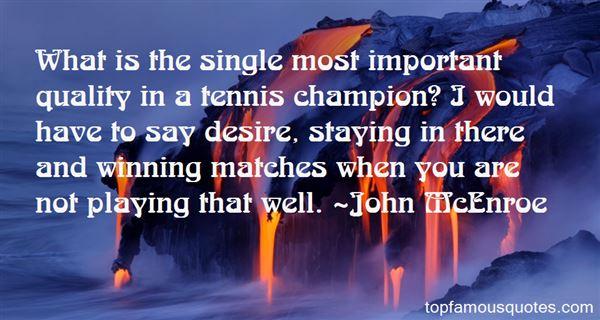 John McEnroe Quotes
